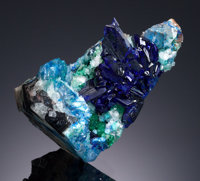 LINARITE Sunshine No. 1 Adit, Blanchard Mine, Bingham, Hansonburg Dist., Socorro Co., New Mexico, USA