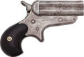 Handguns:Derringer, Palm, Sharps Model 4B 4-Barrel Bulldog Derringer....