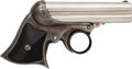Handguns:Derringer, Palm, Remington-Elliot 4-Barrel Ring Trigger Derringer. ...