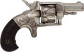 Handguns:Single Action Revolver, Engraved U.S. Arms No. 41 Spur Trigger Pocket Revolver. ...