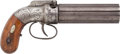 Handguns:Muzzle loading, Allen & Thurber Pepperbox Percussion Revolver. ...