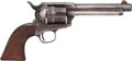 Handguns:Single Action Revolver, Colt Artillery Model Single Action Army Revolver Inspected by Cleveland with Factory Letter....