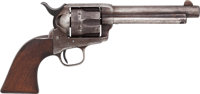 Colt Artillery Model Single Action Army Revolver Inspected by Cleveland with Factory Letter