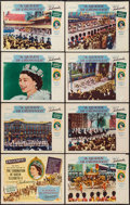 """Movie Posters:Documentary, A Queen is Crowned (Rank, 1953). Lobby Card Set of 8 (11"""" X 14""""). Documentary.. ... (Total: 8 Items)"""