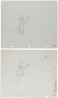 Animation Art:Production Drawing, Dr. Seuss Animation Production Drawing Original Art Group(1970s).... (Total: 2 Original Art)