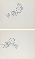 Animation Art:Production Drawing, The Pogo Special Birthday Special Animation ProductionDrawing Original Art Group (Chuck Jones/MGM, 1969).... (Total: 2Original Art)