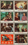 "Movie Posters:Romance, Until They Sail (MGM, 1957). Lobby Card Set of 8 (11"" X 14"").Romance.. ... (Total: 8 Items)"