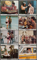 "Movie Posters:Crime, Taxi Driver (Columbia, 1976). Mini Lobby Card Set of 8 (8"" X 10"").Crime.. ... (Total: 8 Items)"