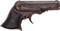 Handguns:Derringer, Palm, Incomplete Remington Ring-Trigger 4-Barrel Derringer....