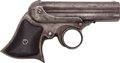 Handguns:Derringer, Palm, Remington-Eliot Ring-Trigger 4-Barrel Derringer. ...