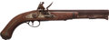 Handguns:Muzzle loading, Reproduction U.S. Harpers Ferry Model 1805 Flintlock Pistol....