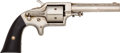 Handguns:Single Action Revolver, Eagle Arms Co. Front-Loading Spur Trigger Pocket Revolver. ...