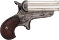 Handguns:Derringer, Palm, Sharps 4B-Barrel Bulldog Derringer....