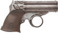 Handguns:Derringer, Palm, Remington-Elliot 5-barrel Ring Trigger Derringer. ...