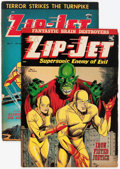 Golden Age (1938-1955):Superhero, Zip-Jet #1 and 2 Group (St. John, 1953) Condition: Average VG-.... (Total: 2 Comic Books)