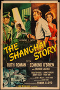 "Movie Posters:Mystery, The Shanghai Story (Republic, 1954). One Sheet (27"" X 41"") &Lobby Card Set of 8 (11"" X 14""). Mystery.. ... (Total: 9 Items)"