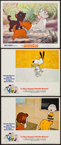 "Movie Posters:Animation, A Boy Named Charlie Brown & Others Lot (National General,1969). Lobby Cards (3) & Lobby Card Set of 8 (11"" X 14"").Animatio... (Total: 11 Items)"