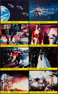 """Message from Space (United Artists, 1978). Mini Lobby Card Set of 8 (8"""" X 10""""). Science Fiction. ... (Total: 8..."""