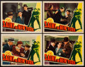 "Movie Posters:Mystery, The Saint in New York (RKO, 1938). Lobby Cards (4) (11"" X 14"").Mystery.. ... (Total: 4 Items)"