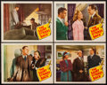 "Movie Posters:Mystery, The Saint Strikes Back (RKO, 1939). Lobby Cards (4) (11"" X 14"").Mystery.. ... (Total: 4 Items)"