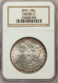 Morgan Dollars: , 1900 $1 MS65 NGC. NGC Census: (4299/595). PCGS Population(3504/594). Mintage: 8,830,912. Numismedia Wsl. Price forproblem...