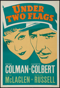 """Under Two Flags (20th Century Fox, 1936). Leader Press One Sheet (28"""" X 41""""). Adventure"""