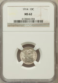 Barber Dimes: , 1914 10C MS62 NGC. NGC Census: (68/599). PCGS Population (103/692).Mintage: 17,360,656. Numismedia Wsl. Price for problem ...