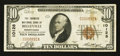 National Bank Notes:Pennsylvania, Belleville, PA - $10 1929 Ty. 1 The Farmers NB Ch. # 10128. ...