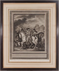"Militaria:Ephemera, "" Napoleon in Battle"" Print. ..."