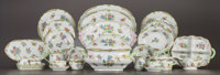 A NINETY-SEVEN PIECE HEREND QUEEN VICTORIA PATTERN DINNER SERVICE Herend Porcela