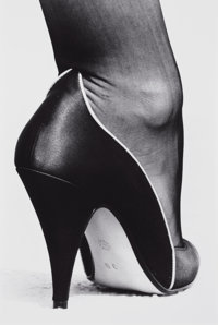 HELMUT NEWTON (German/Australian, 1920-2004) Shoe, Monte Carlo, 1983 Gelatin silver, printed later