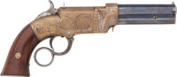 Engraved Volcanic Lever Action No. 1 Pocket Pistol