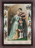 "Militaria:Ephemera, ""Twixt Love and Duty"" Print...."