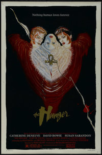 """The Hunger (MGM/UA, 1983). One Sheet (27"""" X 41""""). Horror Romance. Directed by Tony Scott. Starring Catherine D..."""