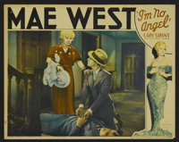 "I'm No Angel (Paramount, 1933). Lobby Card (11"" X 14""). Comedy. Starring Mae West, Cary Grant, Edward Arnold..."