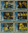 """Movie Posters:Science Fiction, Journey to the Seventh Planet (American International, 1962). LobbyCards (6) (11"""" X 14""""). Science Fiction. Starring John Ag... (Total:6 Items)"""