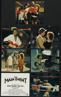 """The Main Event (Warner Brothers, 1979). Mini Lobby Cards (7) (8"""" X 10""""). Sports Comedy. Directed by Howard Zie..."""