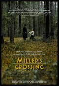 "Movie Posters:Crime, Miller's Crossing (20th Century Fox, 1990). One Sheet (27"" X 41"").Crime. Directed by Joel Coen. Starring Gabriel Byrne, Alb..."