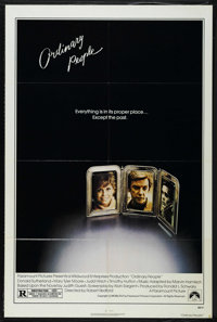 """Ordinary People Lot (Paramount, 1980). One Sheet (27"""" X 41"""") and Mini Lobby Card Set of 8 (8"""" X 10"""")..."""