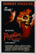 "Movie Posters:Horror, The Phantom of the Opera (21st Century, 1989). One Sheet (27"" X 41""). Horror. Directed by Dwight H. Little. Starring Robert ..."