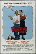 """Movie Posters:Musical, Popeye (Paramount, 1980). One Sheet (27"""" X 41""""). Family. Directed by Robert Altman. Starring Robin Williams, Shelley Duvall,..."""