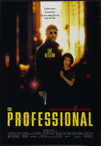 "The Professional (Columbia, 1994). One Sheet (27"" X 40""). Action. Directed by Luc Besson. Starring Jean Reno..."