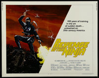 "Revenge of the Ninja (MGM/UA, 1983). Half Sheet (22"" X 28""). Action. Directed by Sam Firstenberg. Starring Sho..."