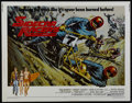 "Movie Posters:Drama, Sidecar Racers (Universal, 1975). Half Sheet (22"" X 28""). Sports Drama. Directed by Earl Bellamy. Starring Ben Murphy, Wendy..."