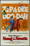 """Movie Posters:Animated, Song of the South (Buena Vista, R-1972). One Sheet (27"""" X 41""""). Live Action/Animated Musical. Directed by Harve Foster and W..."""