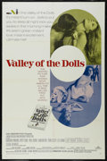 "Movie Posters:Cult Classic, Valley of the Dolls (20th Century Fox, 1967). One Sheet (27"" X41""). Drama. Directed by Mark Robson. Starring Barbara Parkin..."