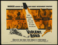 "Movie Posters:Adventure, Violent Road (Warner Brothers, 1958). Half Sheet (22"" X 28"").Adventure. Directed by Howard W. Koch. Starring Brian Keith, D..."