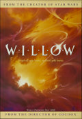 """Movie Posters:Fantasy, Willow (MGM, 1988). One Sheet (27"""" X 40"""") Advance. Fantasy Adventure. Directed by Ron Howard. Starring Val Kilmer, Joanne Wh..."""