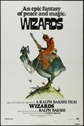 "Movie Posters:Animated, Wizards (Twentieth Century Fox, 1977). One Sheet (27"" X 41"") StyleA. Animated Fantasy. Directed by Ralph Bakshi. Starring t..."