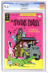 Addams Family #1 File Copy (Gold Key, 1974) CGC NM+ 9.6 Off-white to white pages. Overstreet 2006 NM- 9.2 value = $140...